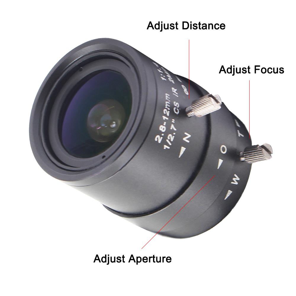 2.8-12mm lens